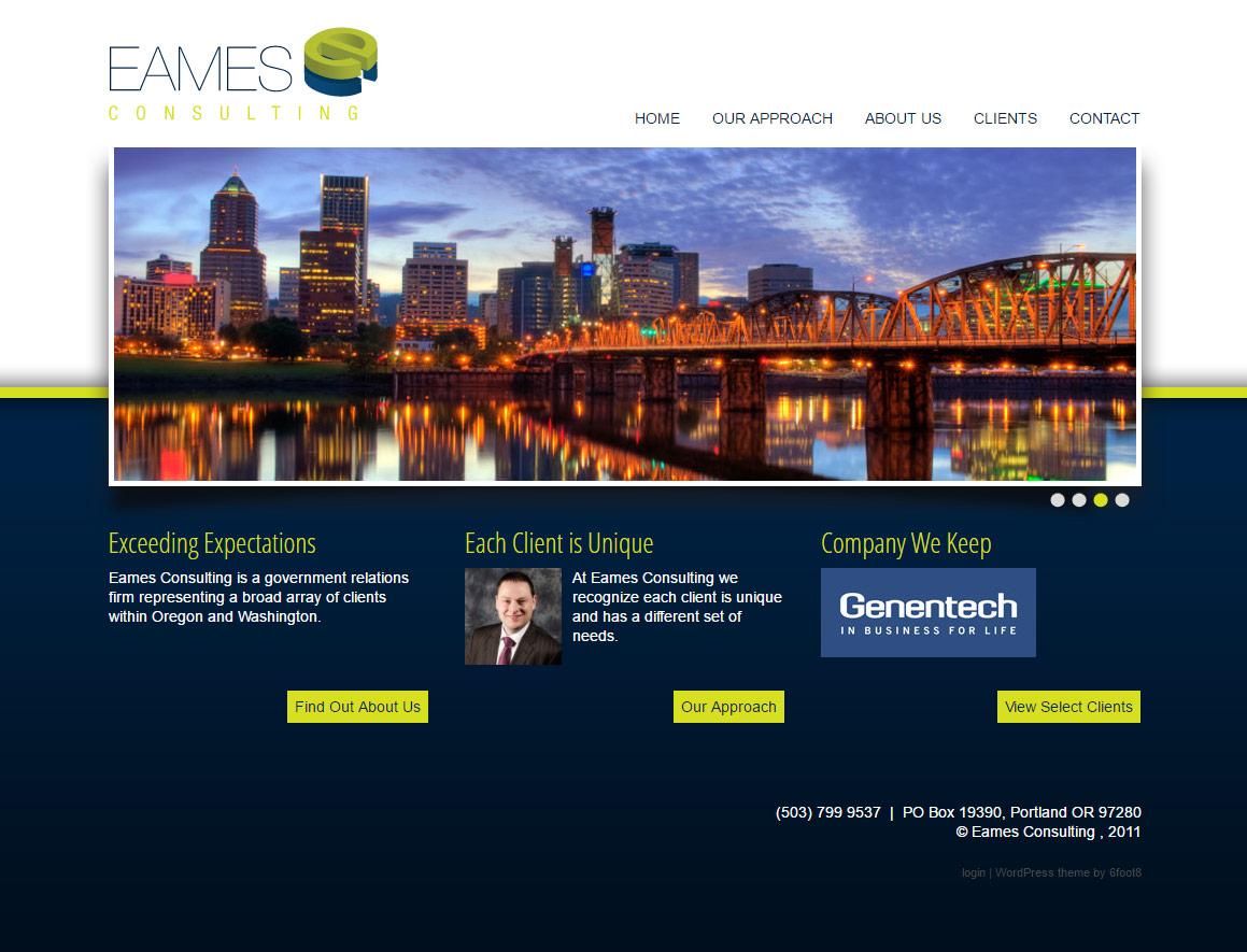 Eames-Consulting.com Website