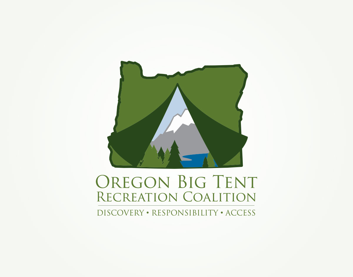 Oregon Big Tent Recreation Coalition - Logo Design