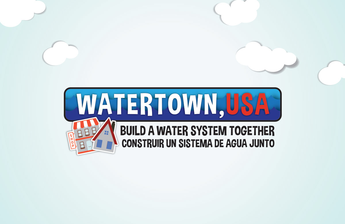 Watertown, USA (Cooperative Board Game) Logo