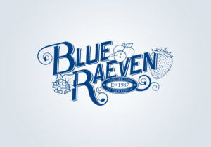 Blue Raeven Logo Development (Logo Graphic Design)