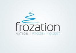 Frozation Nation Logo Graphic Design