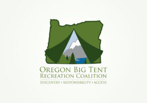 Oregon Big Tent Recreation Coalition - Logo Design